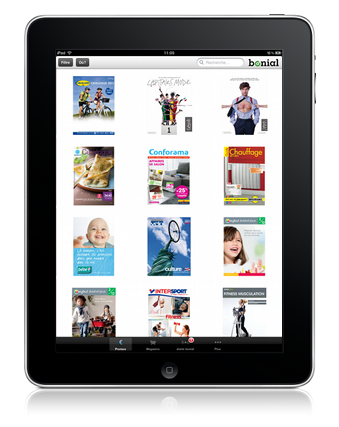 Application gratuite - Bonial pour iPad