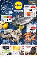 Catalogue Lidl en cours, La foire aux poissons, Page 1