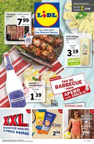 Catalogue Lidl en cours, Sélection fan de barbecue, Page 1