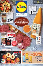 Catalogue Lidl en cours, Saveurs authentiques, Page 1